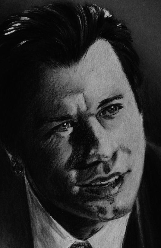 John Travolta por Tom-Heyburn